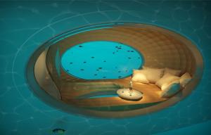 Unterwasserfenster
